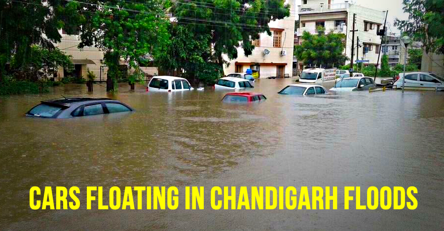 [VIDEO] Massive floods in Chandigarh & Mohali: Watch all your favourite cars drowning
