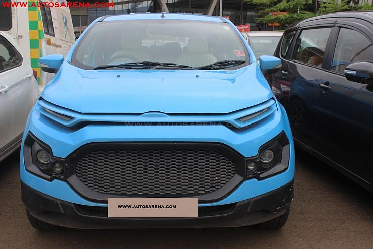 How Much Is A Car Paint Job >> 5 Hot, modified Ford Ecosport SUVs from India