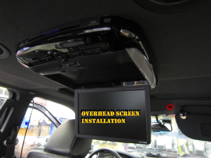 roof mounted dvd