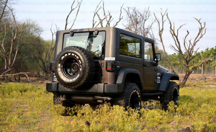 5 Best Thar To Wrangler Conversions In India