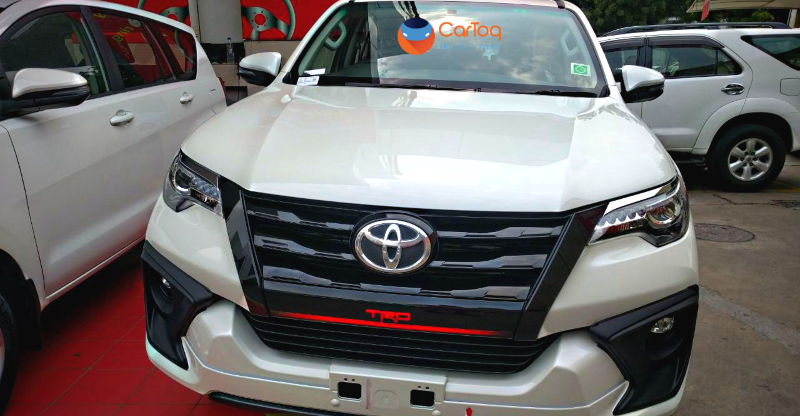 2017 Toyota Fortuner TRD Featured