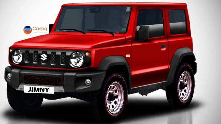 2018 Suzuki Jimny in Red