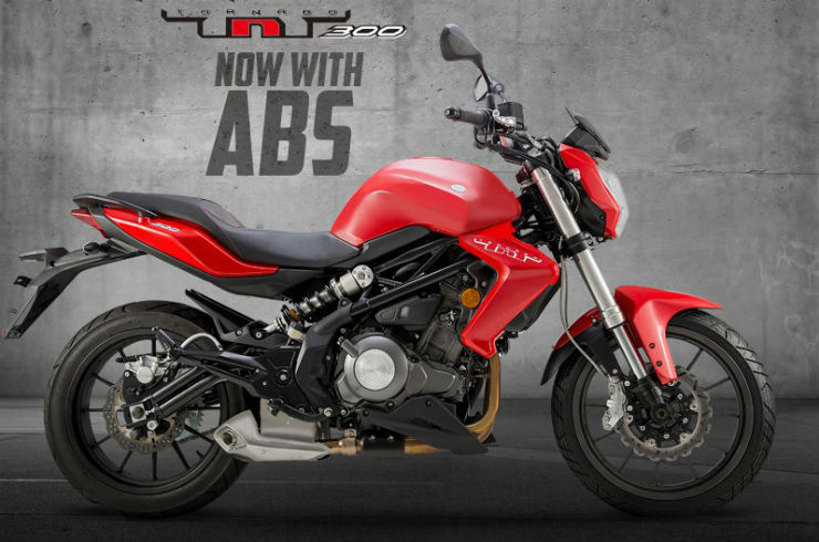Benelli TNT 300 ABS launched in India