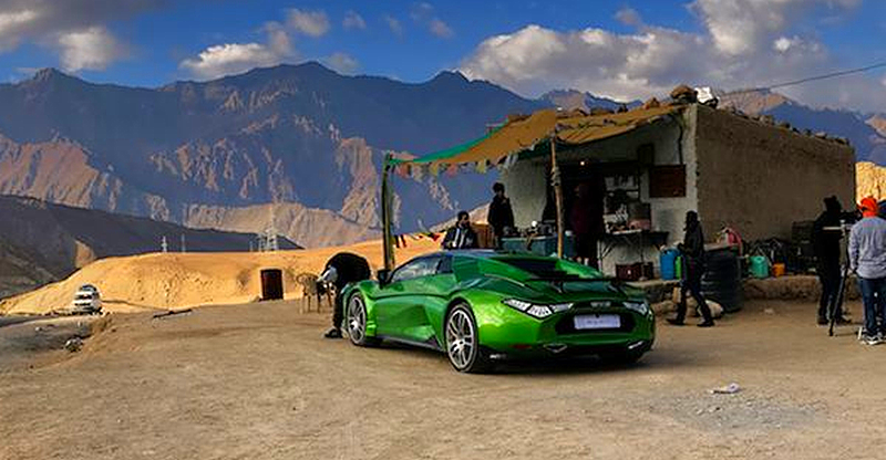 DC Avanti becomes first 'Indian sportscar' to reach Ladakh
