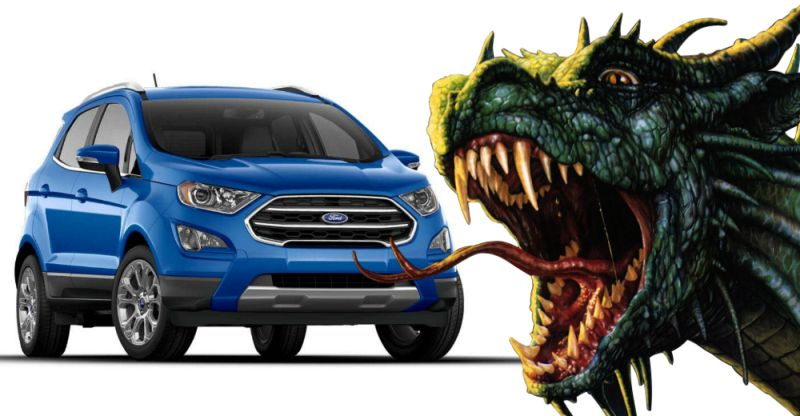 Ford EcoSport's new Dragon engines – What's it all about