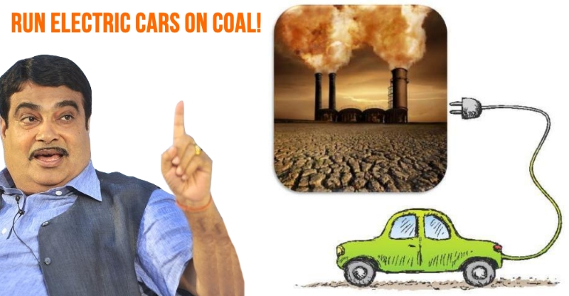 Transport minister Nitin Gadkari to automakers: Use coal to run electric cars
