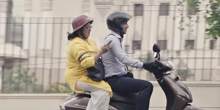 Honda Activa 4G Banned Ad