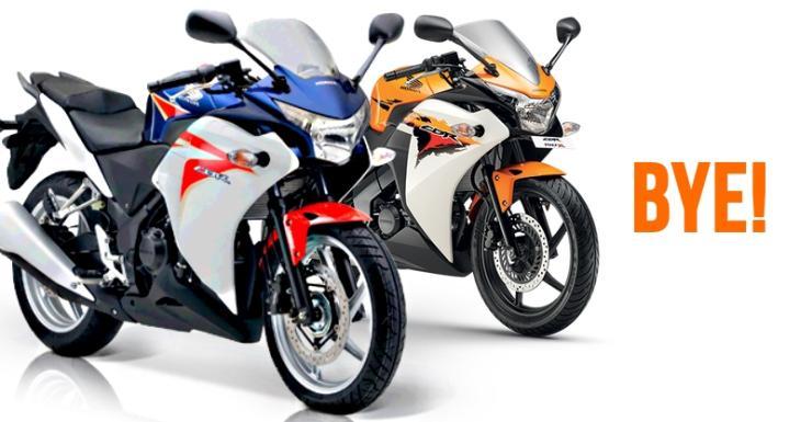 Honda CBR 150R & 250R Farewell