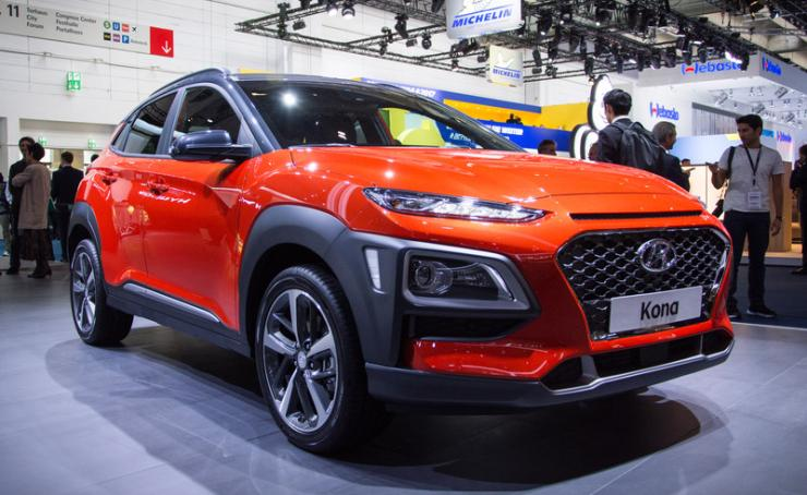 Used Hybrid Cars For Sale By Owner >> Hyundai Kona Electric SUV in India as early as 2018; Revealed at Frankfurt Motor Show