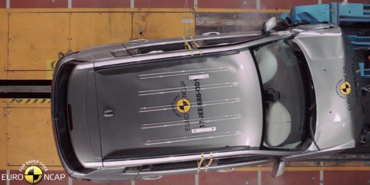 Jeep Compass Euro NCAP Crash Test 2