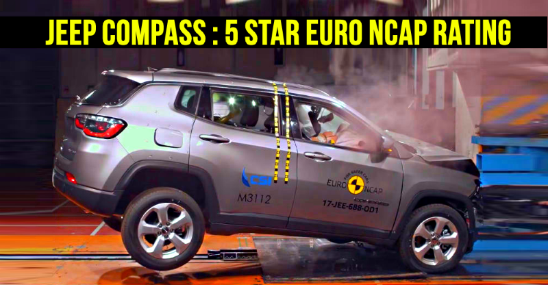 Jeep Compass scores 5 stars in Euro NCAP crash test: Here's why it matters to India