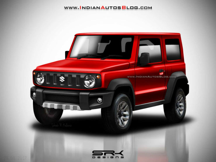 Maruti Suzuki Jimny India Bound Replacement Of Gypsy Rendered