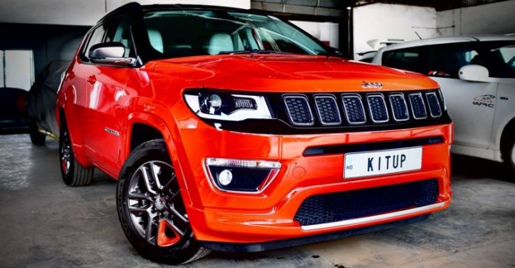 Kit Up Modified Jeep Compass Featured