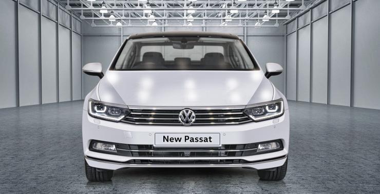 MQB Volkswagen Passat assembled in India