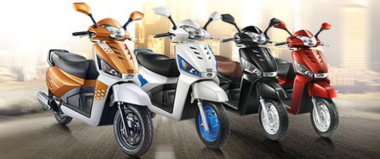 Mahindra Scooters