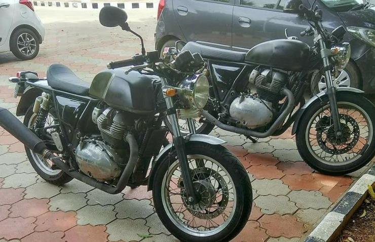 Royal Enfield 750 Twins