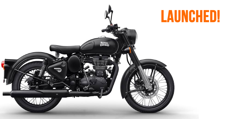 Royal Enfield Classic 350 Gunmetal Grey and 500 Stealth Black launched in India