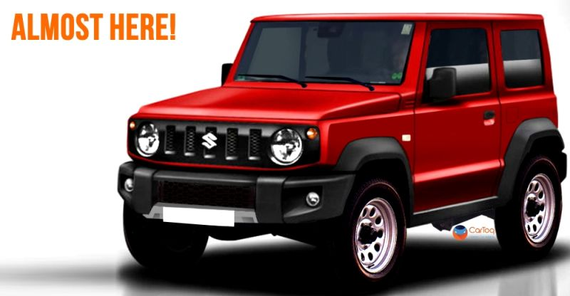 suzuki jimny gypsy replacement spied uncamouflaged maruti to build sell suv in india. Black Bedroom Furniture Sets. Home Design Ideas