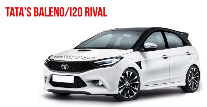 Tata X451 Premium Hatchback 4 Ways The New Baleno I20