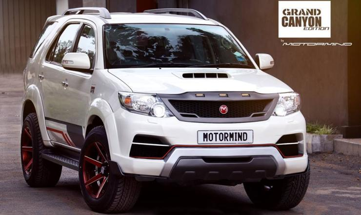 Toyota Fortuner Grand Canyon Edition 2