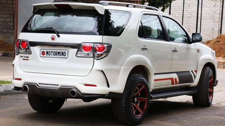 Toyota Fortuner Grand Canyon Edition 4
