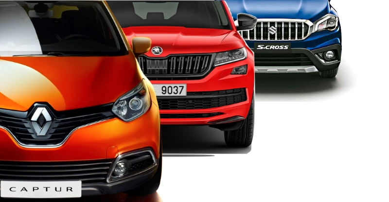 7 new car & SUV launches in October 2017