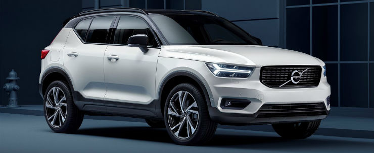 Volvo XC40 luxury SUV listed on Indian-Volvo website; Launch in 2018