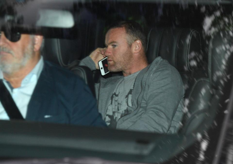 Wayne Rooney in his Overfinch Range Rover