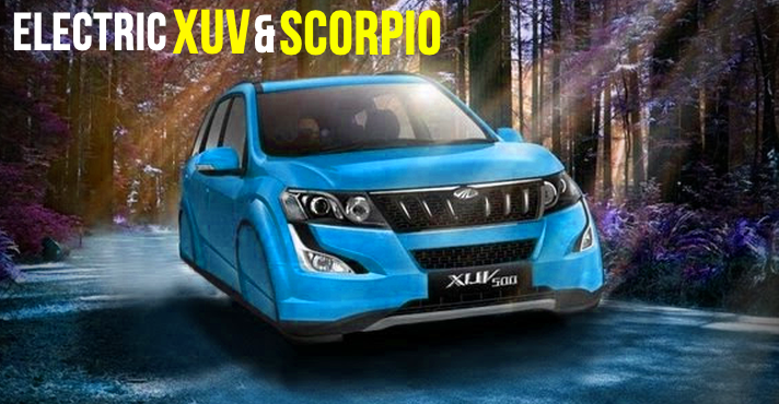 Official: Mahindra readying 'Electric' versions of Scorpio & XUV500 SUVs