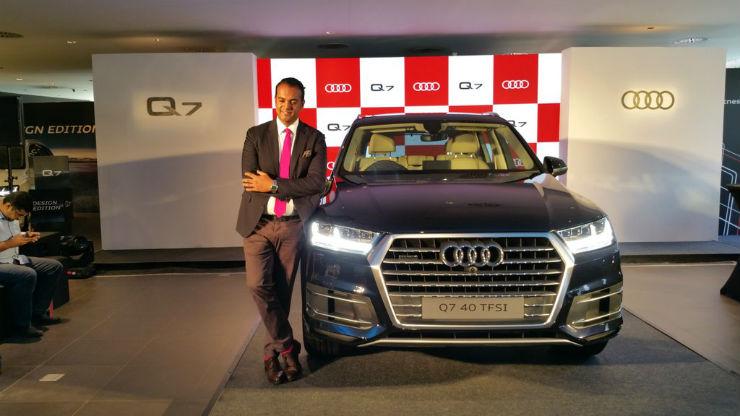 Audi Q7 petrol launched