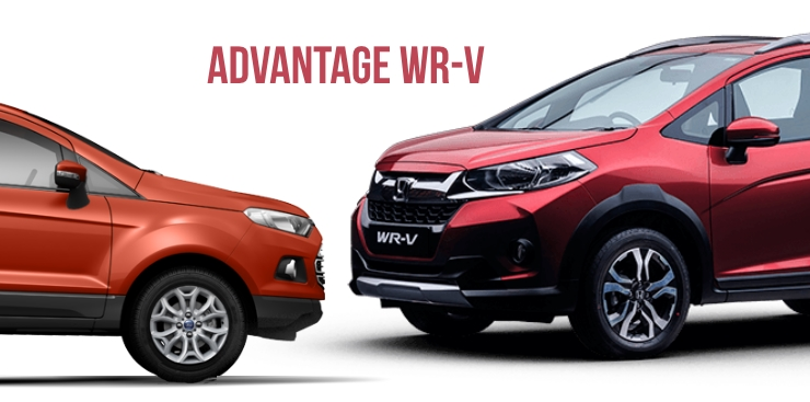 Honda WR-V outsells the Ford Ecosport compact SUV in India