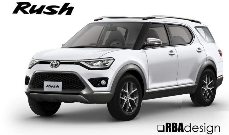 2018 Toyota Rush Render