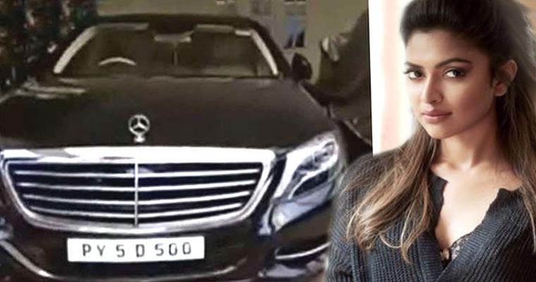 Amala Paul & her Mercedes Benz S-Class