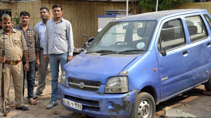 Arvind Kejriwal's recovered Maruti WagonR