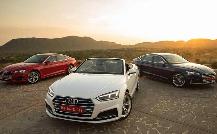 Audi A5 Sportback, Cabriolet & S5