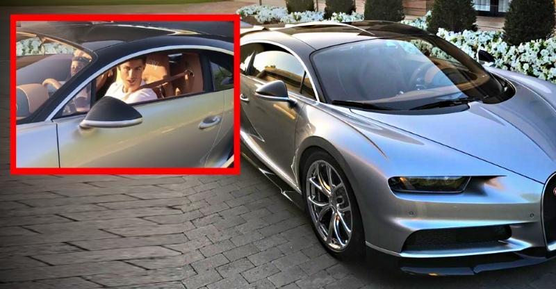 Cristiano Ronaldo S 18 Crore Bugatti Chiron Hypercar This