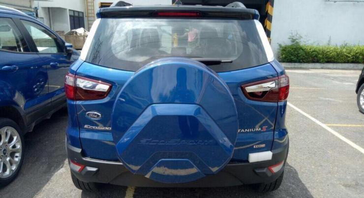 Facelifted Ford EcoSport S 2