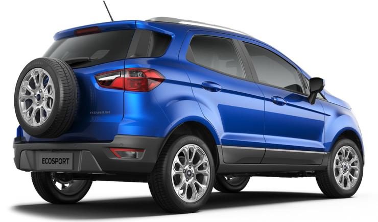Ford EcoSport Facelift 17 inch tyres