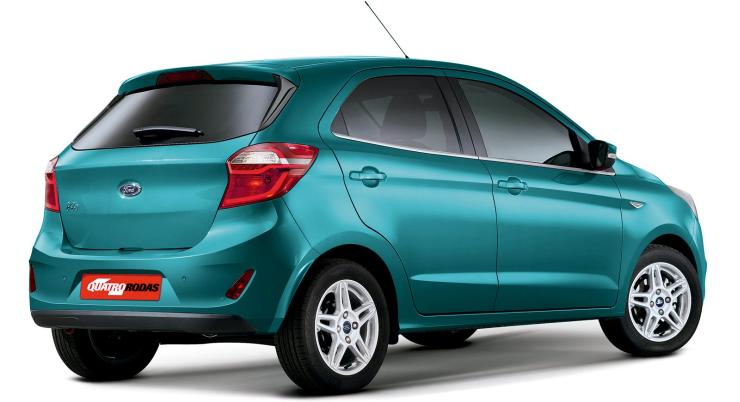 Ford Figo Facelift Render 2