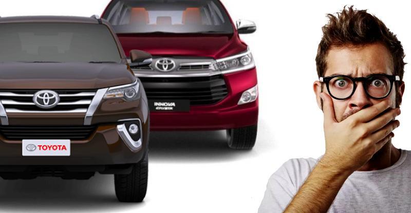 Toyota Innova Crysta & Fortuner RECALLED in India