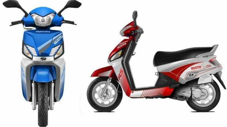 Mahindra launches Gusto RS in India