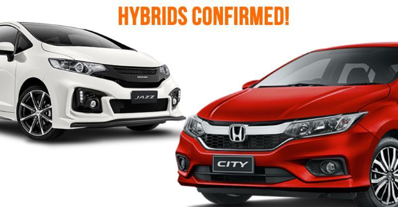 Honda City & Jazz Hybrids CONFIRMED for India