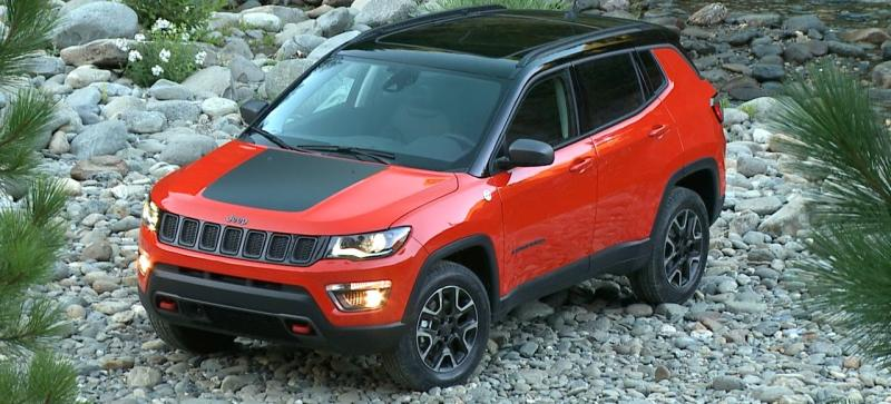 Jeep Compass TrailHawk SUV now being built in India