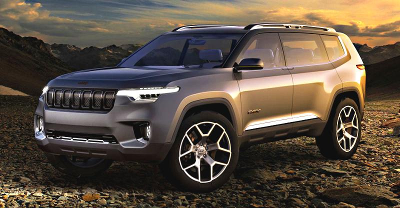 Jeep Working On A 7 Seat Toyota Fortuner Rivaling Suv