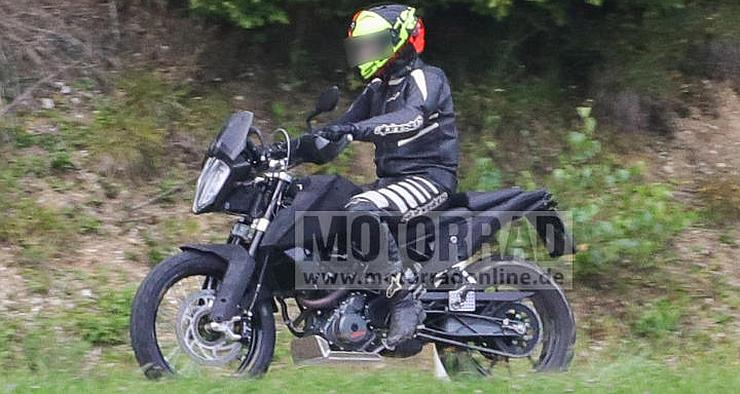 KTM Duke 390 based ADV bike