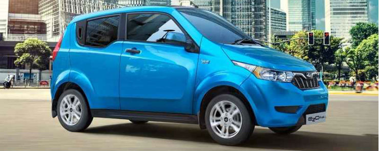 Mahindra & Uber partner to put 100s of electric E20s and eVeritos on Indian roads