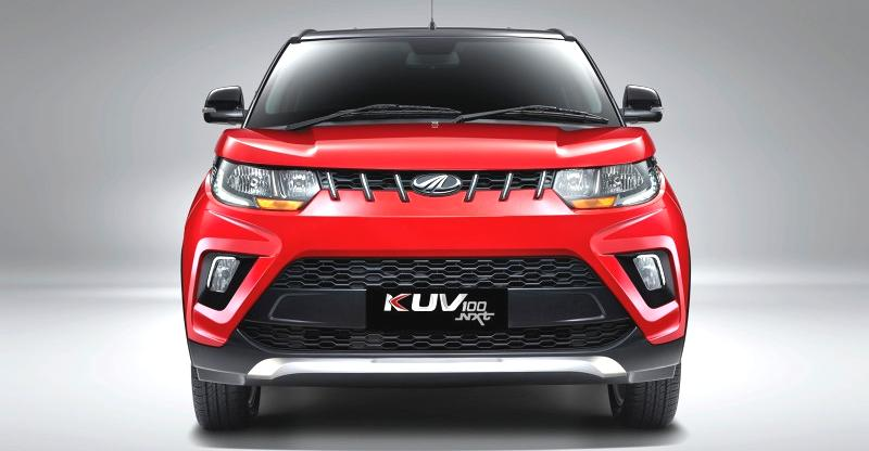 upcoming amt cars in 2018 2018 Mahindra KUV100 NXT Studio Featured
