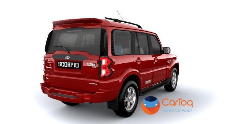 Mahindra Scorpio Facelift SUV Render 2