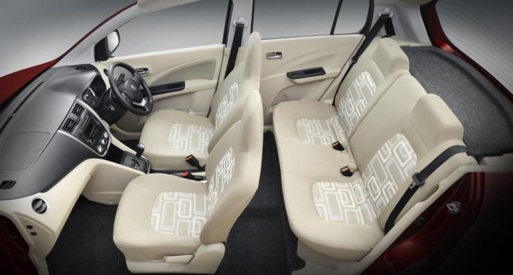 Maruti celerio images interior rear seat