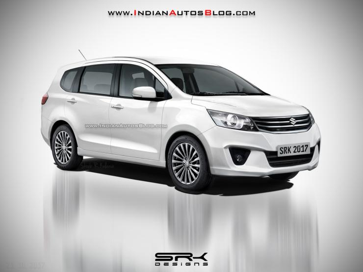 Maruti Ertiga-based YHB Rugged MPV Render